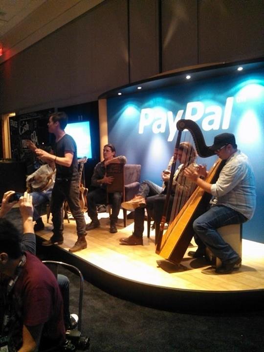 SXSW PayPal Lounge Hudson Band