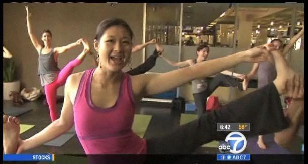 ABC Karaoke Yoga Lean on Me