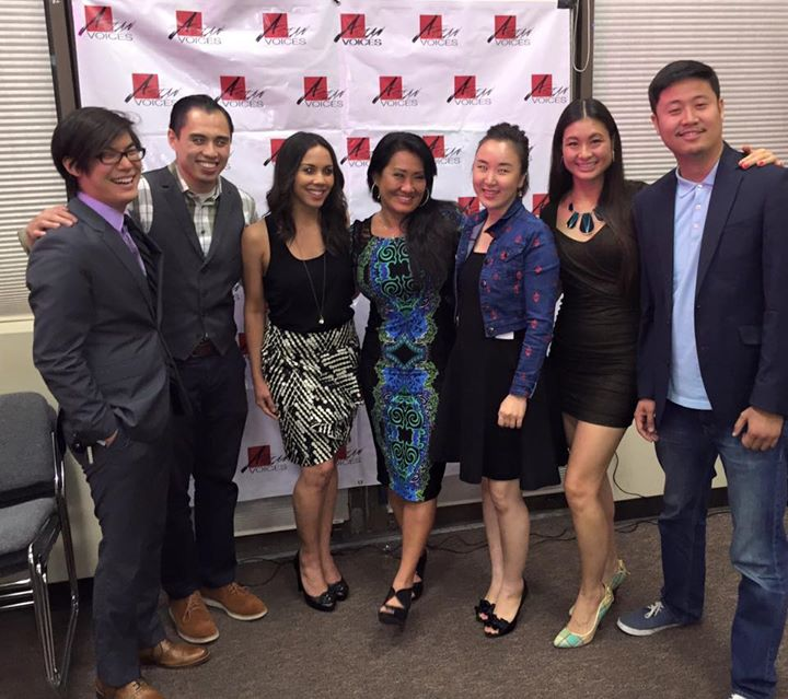 Asian Voices 2 Launch Party with Marketing Melodie 8-7-2015