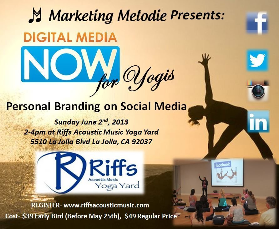 Digital Media Now for Yogis at Riffs