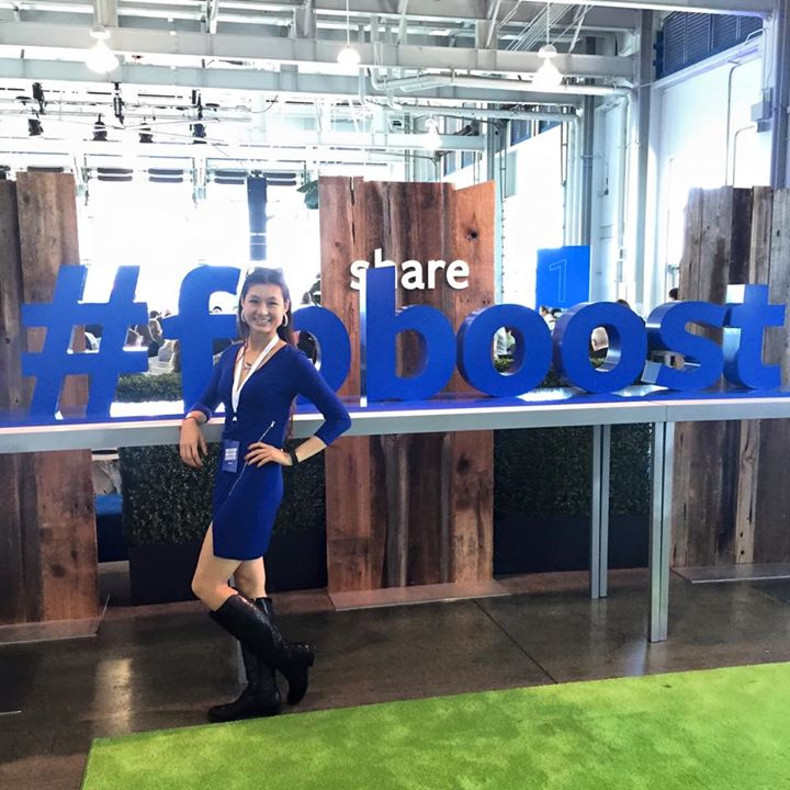 Marketing Melodie at the Facebook Boost Conference