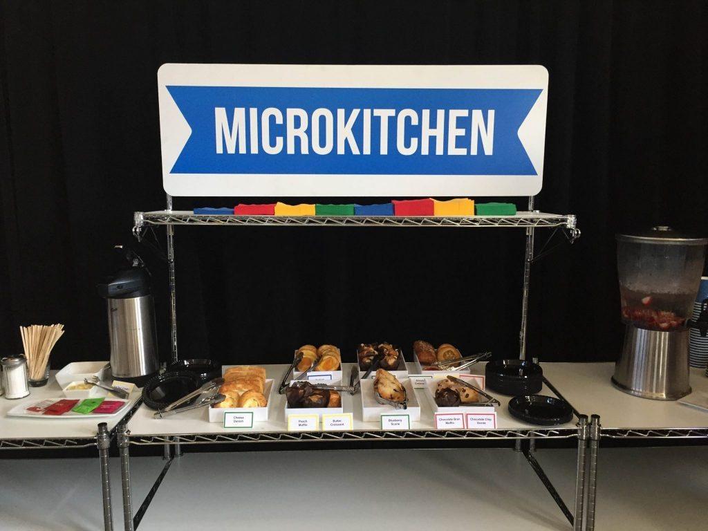 Google San Diego Event Microkitchen