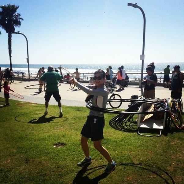 Hula Hooping in San Diego