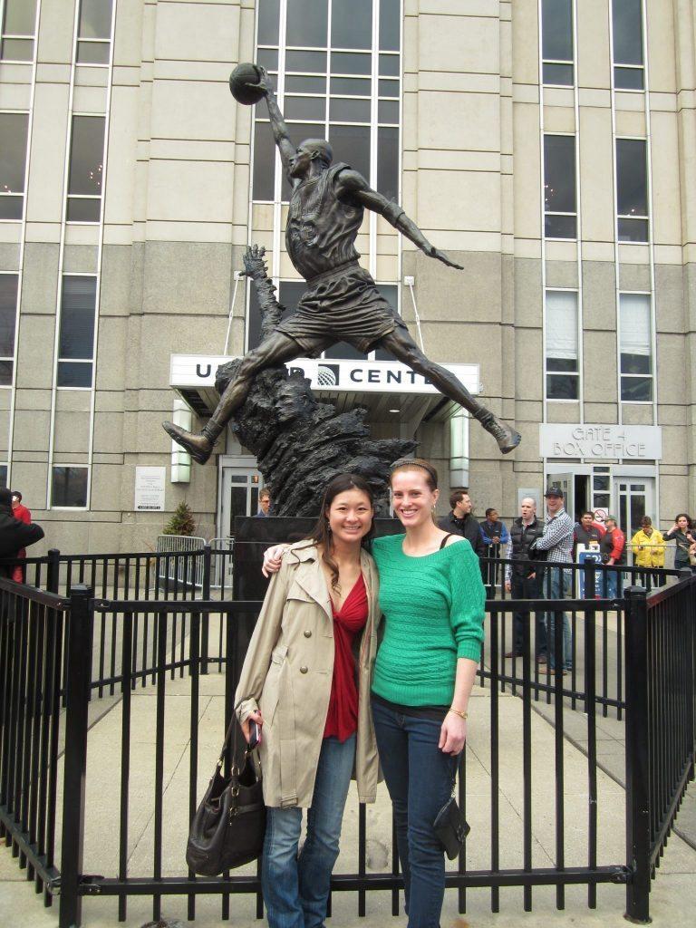 Michael Jordan Chicago Bulls Statue