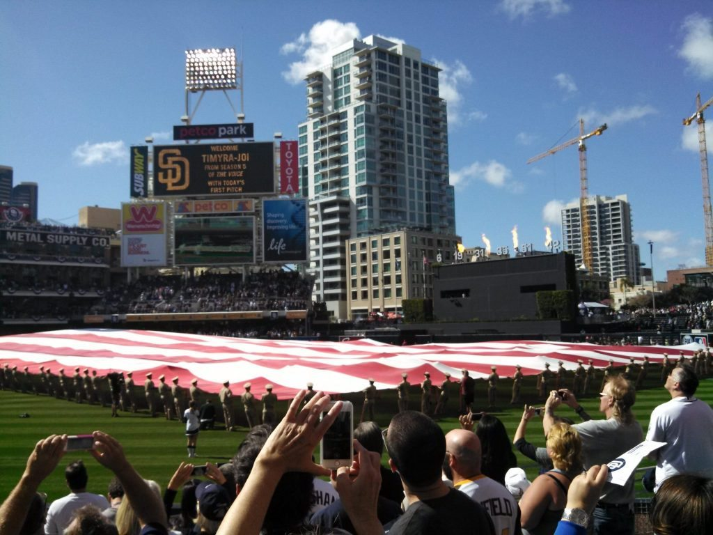 Salute to the Military at Petco Park