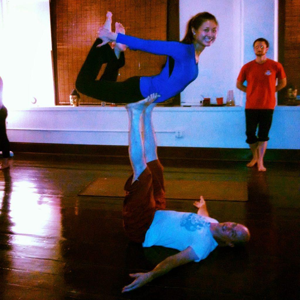 Acro Yoga at Karma Yoga