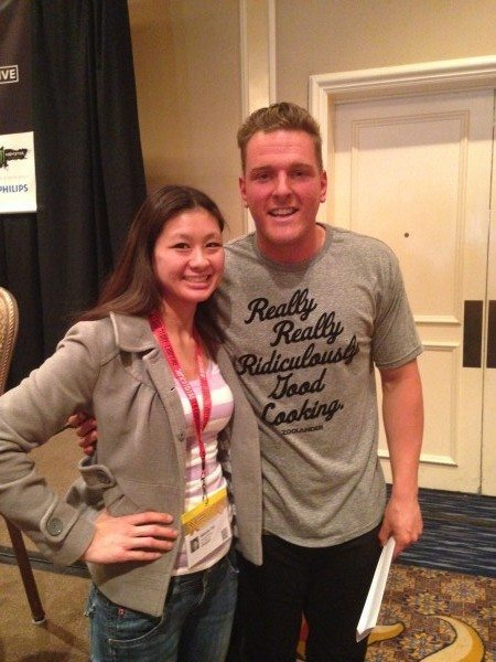 Pat McAfee meets Marketing Melodie