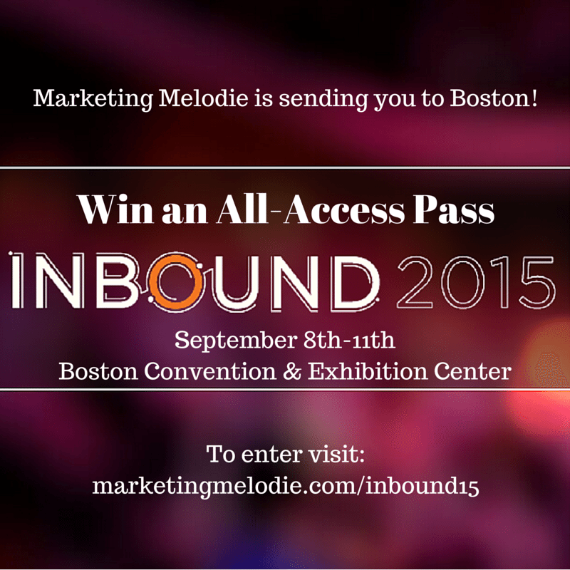 Win an All-Access Pass to #INBOUND15 in Boston ($1,499 Value)!
