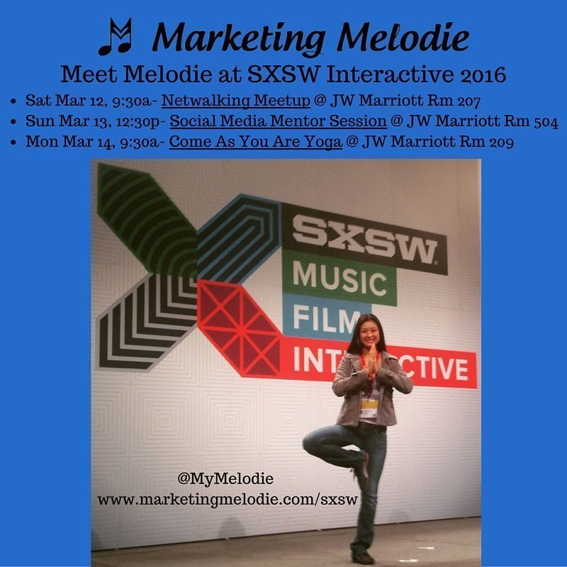 Marketing Melodie at SXSW 2016