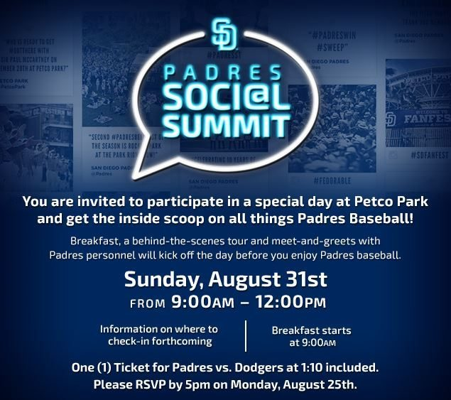 Padres Hit a Grand Slam with the #SDSocialSummit
