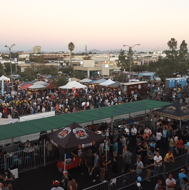 Marketing Melodie Emcees the San Diego Night Market and has your Free Tickets!