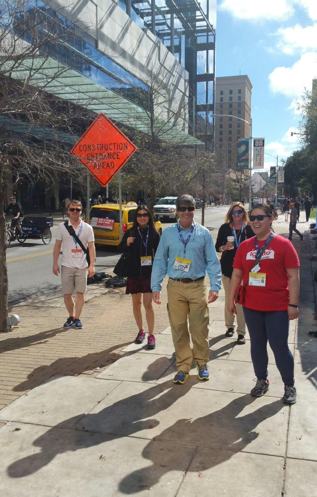 SXSW Netwalking with Marketing Melodie