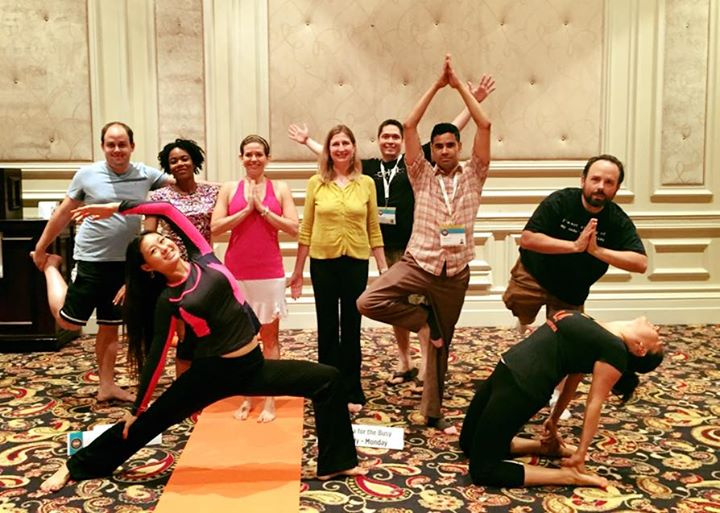 SXSW V2V Yoga