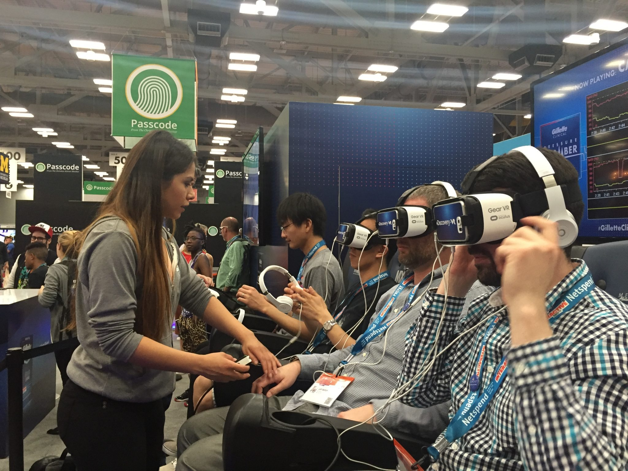 SXSW Virtual Reality Booth with Marketing Melodie