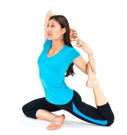 Tao of Yoga Mermaid Pose