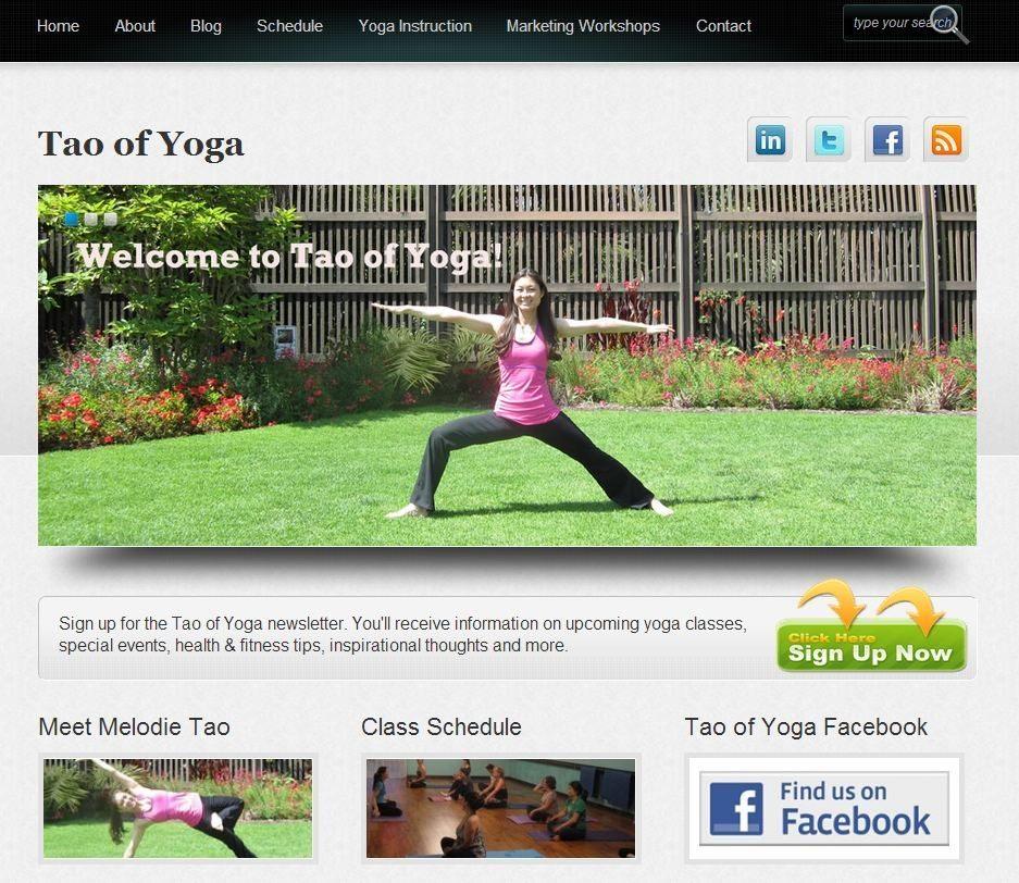 Tao of Yoga website