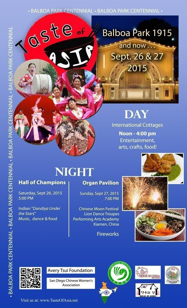 Taste of Asia with Marketing Melodie Flyer