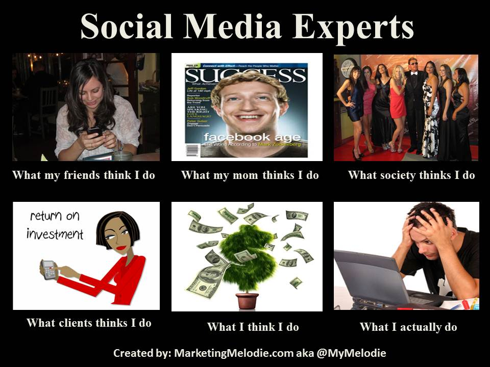 What Social Media Experts Actually Do