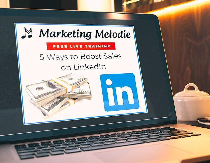 5 Ways to Boost Sales with LinkedIn Webinar